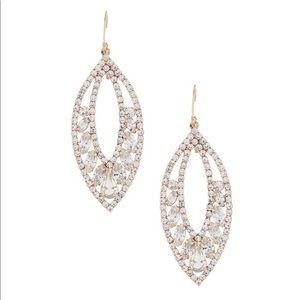 Beautiful earrings by Belle Badgley Mischka